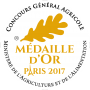 Medaille Or 2017
