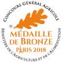 Medaille Bronze 2018 RVB